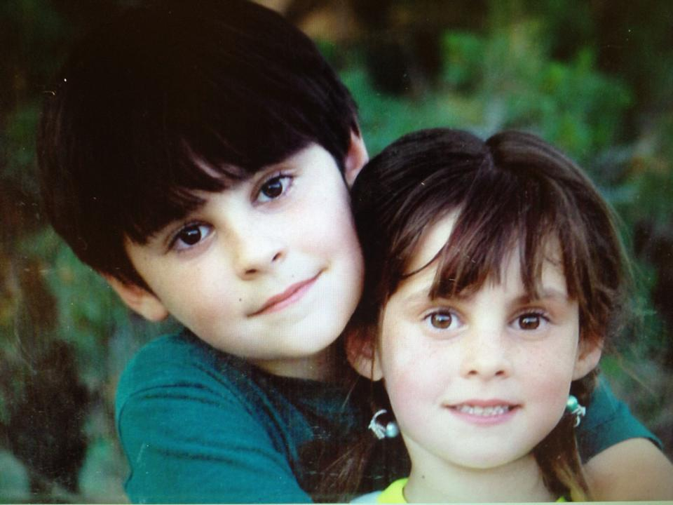 Clayburn and MiShae as kids